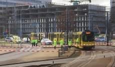 الشرطة الهولندية فرضت طوقا حول محطة ترام بعد إطلاق النار في أوتريخت