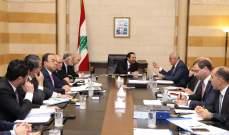 الحريري ترأس اجتماعا للجنة الوزارية المكلفة دراسة الإصلاحات المالية والتقى عدد من الشخصيات