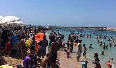 النشرة: ازدحام كبير على الشواطىء السورية رغم تحذيرات وزارة الصحة حول كورونا