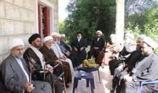 تجمع علماء جبل عامل يحيّي للشعب المقاوم المضحّي في لبنان وسوريا وفلسطين واليمن