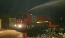 النشرة: فوج اطفاء صيدا اخمد حريق أخشاب وبلاستيكيات في المدينة الصناعية الأولى