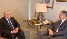 سليمان: صورة لبنان على المحك الدولي والدولة برمتها تتحمل مسؤولية ما يحصل