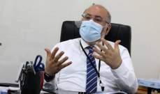 الابيض: كورونا انتشر في جميع أنحاء لبنان والمعركة مع الوباء لا تسير على ما يرام