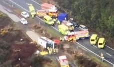 مقتل خمسة أشخاص بعد انقلاب حافلة تقل سائحين صينيين في نيوزيلندا
