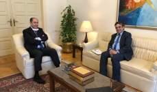 """ممثل سوريا الديمقراطية """"مسد"""" يلتقي مساعد امين عام الجامعة العربية"""