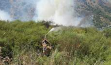 وزير الزراعة السوري: إخماد الحرائق المندلعة باللاذقية وطرطوس وحمص