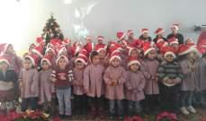 بلدية العاقورة بجبيل أقامت احتفالا ميلاديا في مدرسة العائلة المقدسة