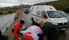 النشرة: جريحان في حادثي سير عند مدخل صيدا الشمالي وشارع رياض الصلح