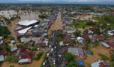 """إرتفاع عدد قتلى الفيضانات في سومطرة بإندونيسيا إلى 17 وتخوف من """"كارثة ثانوية"""""""