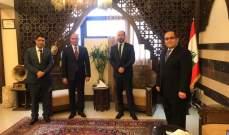 محافظ الجنوب بحث مع السفير التونسي سبل التعاون بمختلف المجالات
