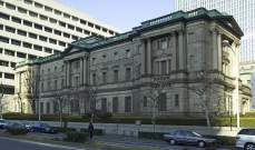 بنك اليابان عرض ضخ 16 مليار دولار تقريبا في الاقتصاد بموجب خطة إقراض