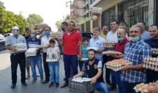 مزارعو ومربو ومنتجو الدجاج اعتصموا في العبدة احتجاجا على تسعيرة كرتونة البيض
