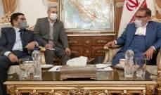 شمخاني لوزير دفاع العراق:خروج أميركا من المنطقة أهم عناصر استقرارها