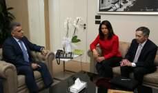 اللواء ابراهيم التقى وفدا اميركيا برئاسة عضو الكونغرس تولسي غابارد