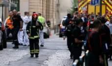 الشرطة الفرنسية تواصل البحث عن منفذ انفجار قنبلة في مدينة ليون