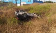 النشرة: نجاة سائق سيارة من حادث مروع بالغازية