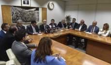 لجنة الاشغال ناقشت مشاريع قوانين تتعلق باتفاقيا قروض ميسرة