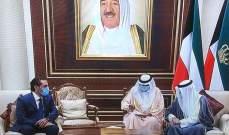 الحريري يزور امير الكويت معزياً بالأمير الراحل الشيخ صباح الأحمد الجابر الصباح
