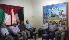وفد من الجهاد الإسلامي جال على عدد من ممثلي القوى الفلسطينية بعين الحلوة