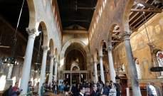 مسلحون يهاجمون الحرس المخصص لكنيسة مار جرجس وسط العريش