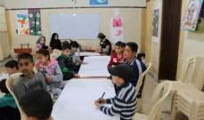 أطفال جمعية نواة يحيون أسبوع الحملة العالمية للتعليم في مخيم عين الحلوة