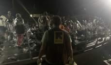انتشال جثث 15 مهاجرا بعد تحطم قاربين قبالة السواحل الليبية