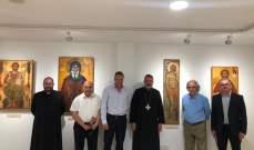 رئيس الجامعة الأوروبية - قبرص زار مطرانية قبرص للموارنة