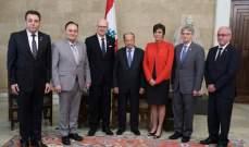 الرئيس عون: اللبنانيون بكندا مخلصون للبلد الذي استقبلهم واوفياء لوطنهم الام