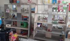 النشرة: سرقة محلات مخصصة لبيع الأدوات المنزلية والكريستال في وادي بعنقودين