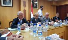 زعيتر من دمشق: لن نتراجع عن تطوير التعاون مع سوريا في القطاع الزراعي