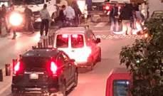 سقوط شابين أثناء تعليق لافتات في ذكرى اغتيال معروف سعد في صيدا