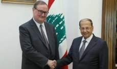 الجمهورية: الرئيس عون يتابع أولا بأول نتائج زيارة دوكان الذي لم يطلب بعد موعدا للقائه
