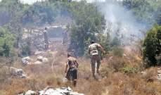سلسلة حرائق أعشاب وأشجار في الكورة أهمدها الدفاع المدني والجيش