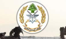 الجيش اللبناني: عملنا على توقيف المتورطين في إشكال وادي الجاموس وعاد الوضع إلى ما كان عليه