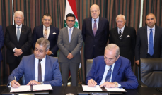 سفير مصر خلال توقيع مشروع لتطوير مرفأ طرابلس: هذا قرار استراتيجي مصري بدعم لبنان