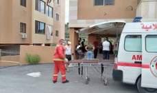 النشرة: اصابتان نتيجة انفجار قارورة غاز في منطقة الفوار في صيدا