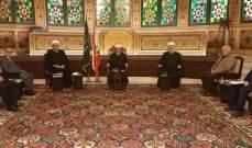 اجتماع لمجلس القضاء الشرعي الأعلى برئاسة دريان