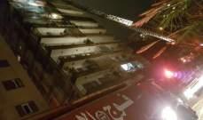 فوج اطفاء بيروت: معالجة تسرب المازوت في الكولا