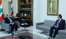 عون يلتقي النائب فيصل كرامي عن اللقاء التشاوري
