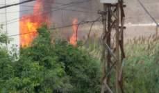 النشرة: إخماد حريق في تعمير حارة صيدا