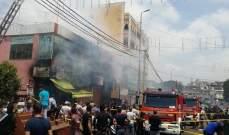 الدفاع المدني: فوج اطفاء الضاحية يعمل على اخماد حريق في منطقة بئر حسن