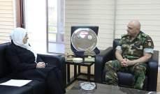 الحريري بحثت مع قائد الجيش أوضاع البلاد ولا سيما بصيدا والمخيمات