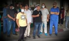 النشرة: اضراب موظفي مستشفى صيدا الحكومي مستمر لليوم الـ17 على التوالي