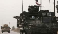 """""""سانا"""": القوات الاميركية أدخلت رتلًا عسكريًا إلى سوريا قادما من العراق"""