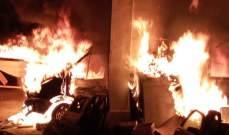 النشرة: حريقا اندلع بمستودع ببقسطا والقوى الأمنية فتحت تحقيقا بالحادث