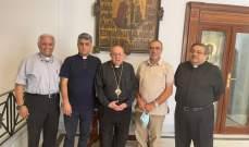 وفد من كاريتاس زار القاهرة شاكراً للكنيسة القبطية مبادرتها لمرضى العيون في لبنان