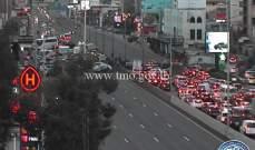 التحكم المروري: قطع السير على أوتوستراد جل الديب بالاتجاهين