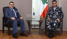 عثمان التقى السفير المصري وبحثا في الاوضاع العامة