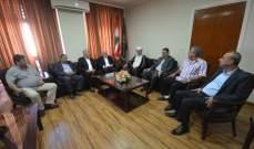 سوسان: لتعزيز الوحدة الفلسطينية من اجل حماية المخيم من اي خطر يتهدده