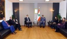 عثمان عرض الاوضاع مع وكيل الأمين العام للأمم المتحدة لشؤون الأمن والسلامة